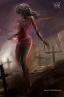 Zombie maiden 2 by FASSLAYER