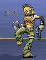 Timesplitters 3 Classic Angel Forge by WooleyWorldHQ