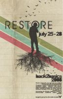 RESTORE POSTER by ozz003