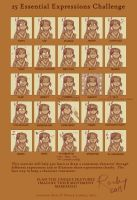 Rahkhi 25 Expressions by Rocky-O