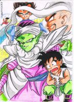 the world in gohan hand by PHOENIXEVERSON85