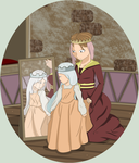 Middle ages contest: Mothers little princess by 10SHADOW-GIRL10