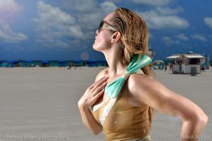 South Beach Sun by RichardKnightly