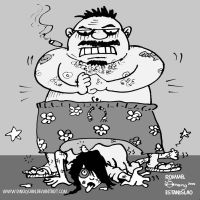 Violence against women by Dinuguan