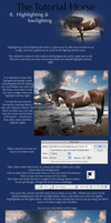 The Tutorial Horse- 8. High and low lighting horse by Dark-Oak-Trails