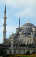 Istanbul Mosque by slickdj3