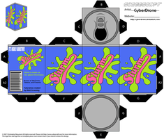 Cubee - Can of Slurm by CyberDrone