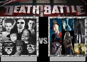 Deathbattle31: Old vs New Horror by Mr-Wolfman-Thomas