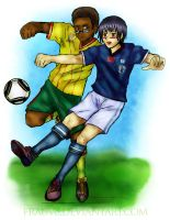 APH: WC 2010 - Japan Cameroon by FrauV8