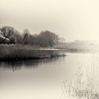 over the cold river IX by carrex