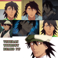 Veteran without beard by Clare-Sparda