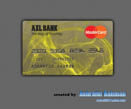 Credit Card Concept by ashraf882