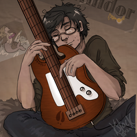 Prongs on Bass by Avender
