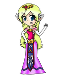 Zelda - She was like this.. by ToonZelinkFanForever