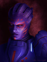 Mass Effect: Captain Wasea by ruthieee