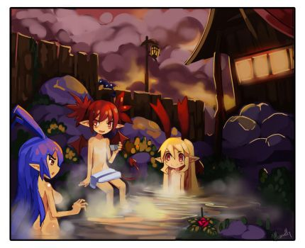 Hotsprings by Miamelly