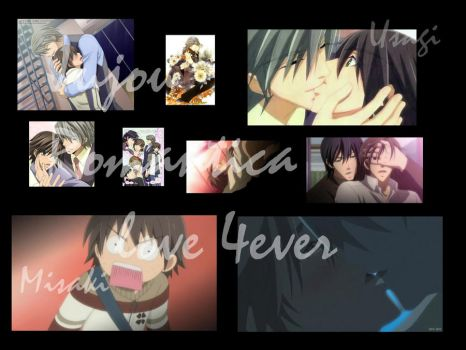 Junjou Romantica wallpaper by Nagi99