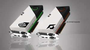 concept graphics card by 9-Breaker