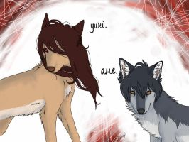 Wolf children by BEEvirus