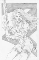 A buff Red Sonja from Robb Phipps by zefly88