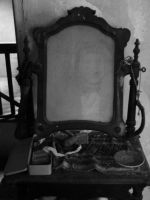 ghost in the mirror by Dvenas