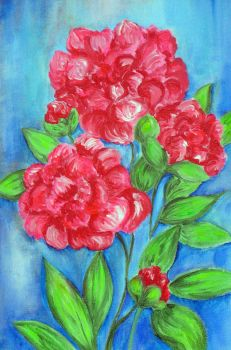 Peonies by Guericke