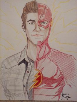 The Flash by Jimmy-B-Deviant