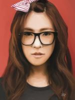 Tiffany portrait - SNSD - Girls Generation by U8i