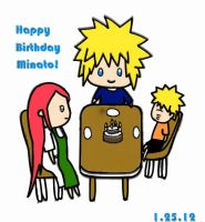 Happy B-day Minato~! by PeachBerryDivision