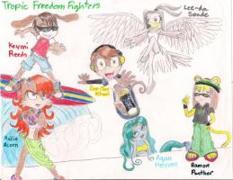 Tropic Freedom Fighters G2 by hinastar-chan