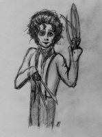 Cute Edward Scissorhands by hollys14
