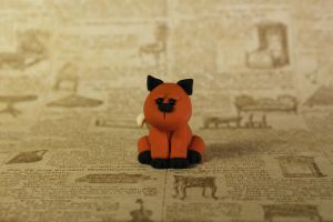 Little Clay Fox by lizayle