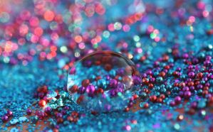 Drop in and Sparkle by Dellessanna