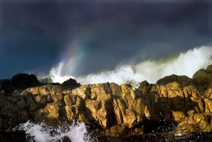 Rainbow and Rocks by hold-steady