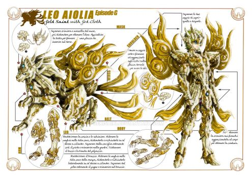 Leo Aiolia God Cloth / Ep.G vers.- Technical sheet by Sekishiki