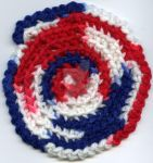Stars and Stripes Coaster by VeronicaIsabel