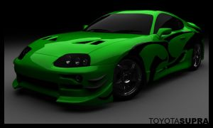 Toyota Supra by Rookie-