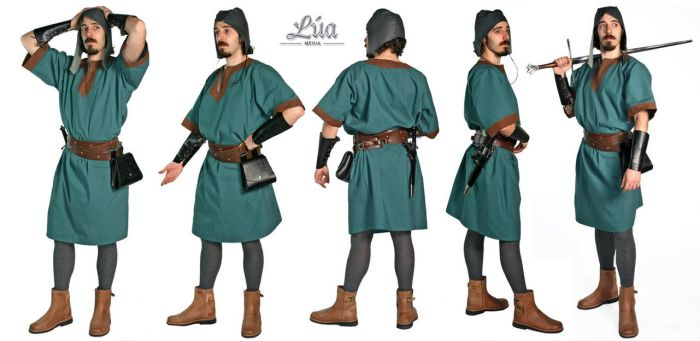 Tunica medieval. by lua-media