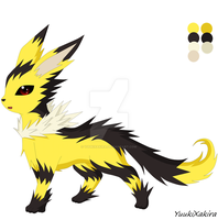dark Jolteon by yuukiXakira