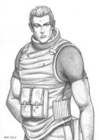 GI Joe Renegades Duke pencil sketch 1 by MJFCreations