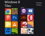 Windows 8 Custom Tiles (for OblyTile) by ssnehil