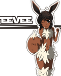 Eevee anthro by xaHarts
