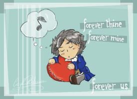 - Forever thine, forever mine - by CeciliaBohemien
