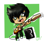 Bate in the band by ITBluebeadTI