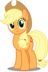 Vector #170 - Applejack #12 by DashieSparkle