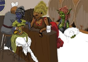 wip  tavern perve by kalascee
