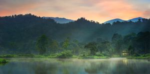 Silent Lake by GregoriusSuhartoyo