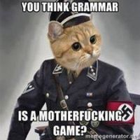 grammar nazi by sky-commander