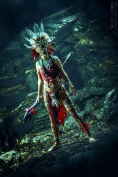 Diablo III: Witch Doctor by Shinkarchuk