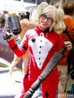 Pajama Party Harley Quinn - Smiles! by Enasni-V